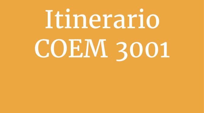 Itinerario para el Taller de Bibliografía Anotada COEM 3001
