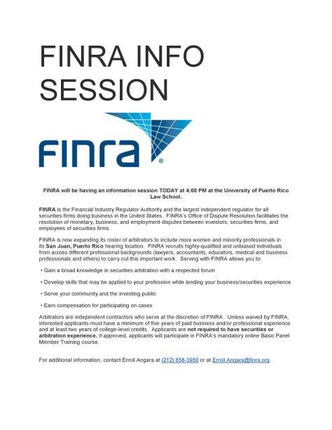 FINRA INFO SESSION-imagen