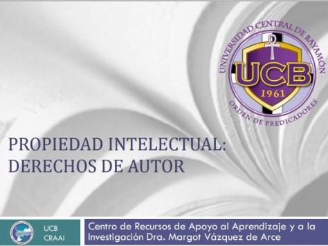 Universidad Central de Bayamón - Centro de Recursos de Apoyo al Aprendizaje y a la Investigación Dra. Margot Vázquez de Arce