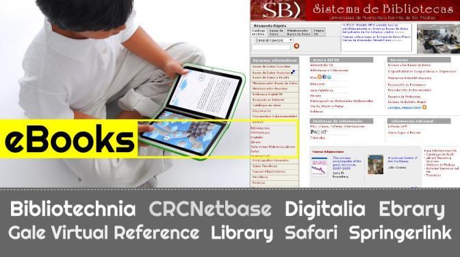 eBooks disponibles en el Sistema de Bibiliotecas (SB)