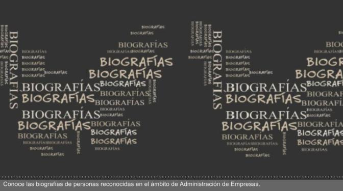 Bibliografía de biografías