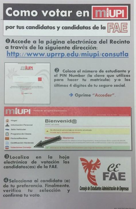 Cómo votar en Miupi