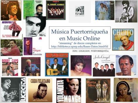 Música Puertorriqueña en Music Online (1)