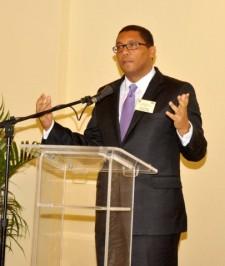 Charles Castel, presidente de la Banca Central