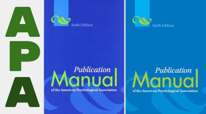 Guía al manual de estilo APA, 6ta. ed. para ADMI 4005, 5 de agosto 2015