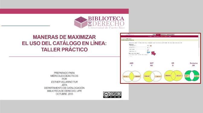 Maximizar el uso del Catálogo en Línea