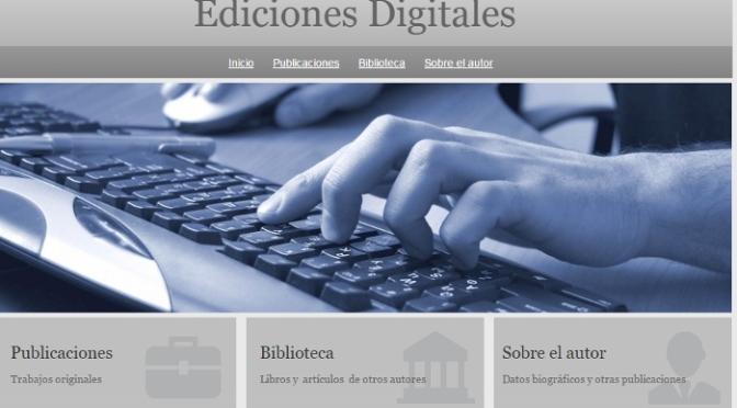 Profesor retirado desarrolla biblioteca digital de ciencia e historia