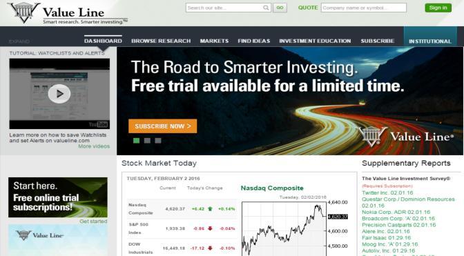 Value Line: fuente de información financiera para inversiones, ahora online @BAE