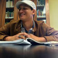 Christian Román Franco, estudiante de la Escuela de Comunicaciones ©2016 ChelianyP