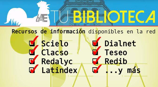 Recursos de información disponibles en la red