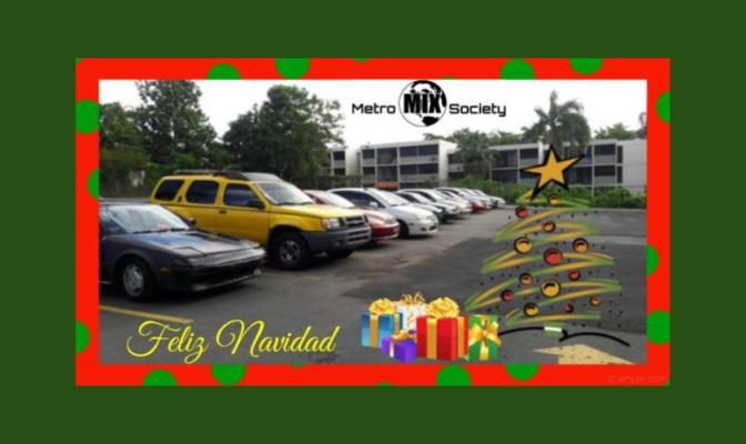 Navidad con Metro Mix Society