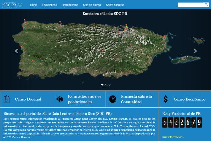 Diálogo UPR | Nuevo portal ofrece acceso fácil a estadísticas censales » Diálogo UPR
