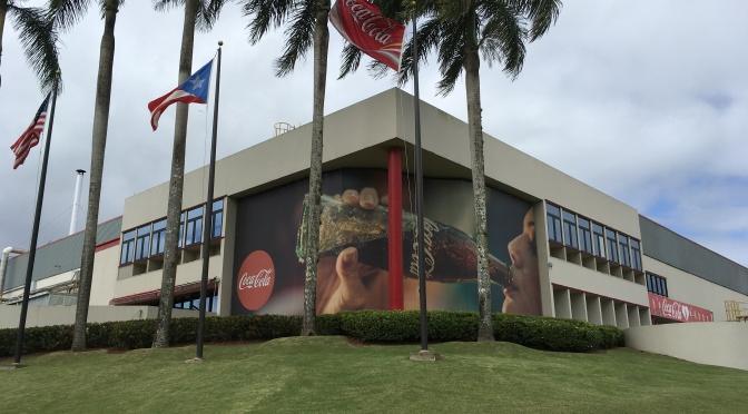 Visita a plantas de la Coca-Cola Bottlers