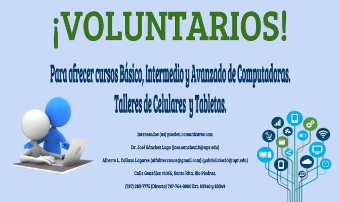 Proyecto ENLACE solicita voluntarios(as)