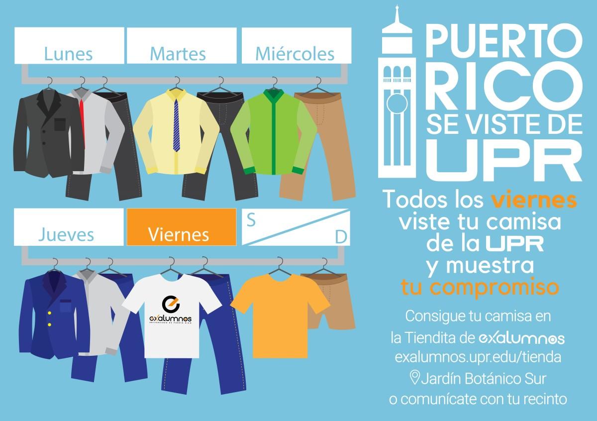 Puerto Rico se viste de UPR