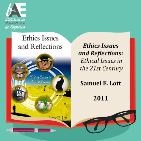 Ethics issues and reflections