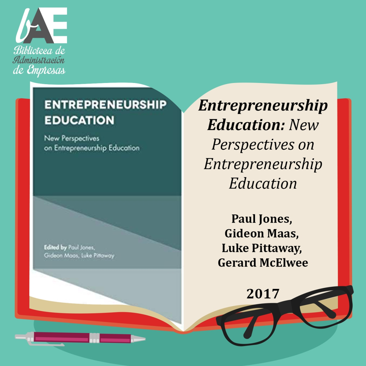 Entrepreneurship Education: New Perspectives on Entrepreneurship Education