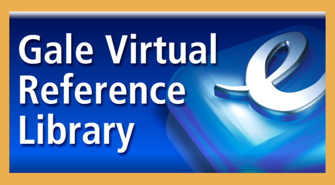 Descubre tus Bases de Datos de ebooks: GALE Virtual Reference Library