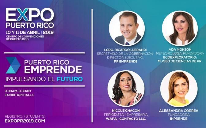 Expo PR 2019 Puerto Rico Emprende: Impulsando el Futuro