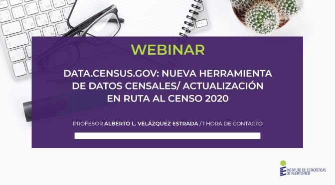 Webinar: Data.census.gov