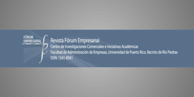 El desarrollo de la revistaFórum Empresarialde 2015 a 2019