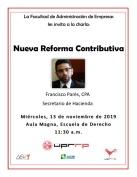 Nueva Reforma Contributiva