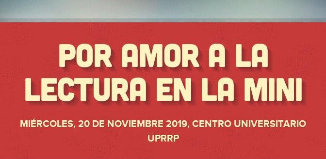Mini Feria del Libro 2019: Centro Universitario UPRRP