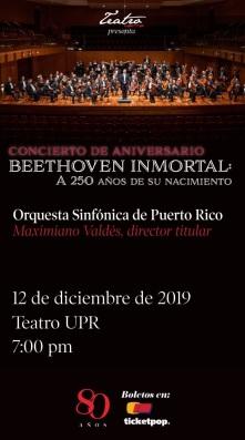 Concierto Teatro UPRRP Orquesta Sinfónica de Puerto Rico