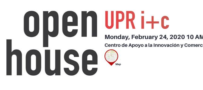 Open House UPR i+c