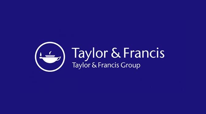 Busca EBOOKS EN LA PLATAFORMA DE TAYLOR & FRANCIS